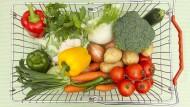Ohne Plastikverpackung sieht das Gemüse viel appetitlicher aus.