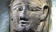 Entdeckt: Sakkara-Maske der zweiten Priesters der Göttin Mut und der Göttin Niut-schi-es