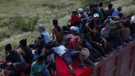 Flüchtlinge wandern weiter