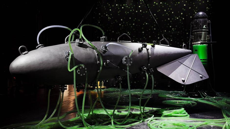 """Kunst, Wissenschaft, Lebewesen, Tüftelei: Thomas Feuersteins installative Grünalgenanlage namens """"Hydra"""" (2021)"""