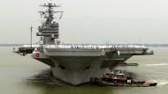 Amerikaner entsenden weitere Kriegsschiffe