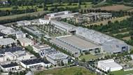 Die Druckerei in Mörfelden-Walldorf (Archivbild)