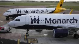Monarch streicht überraschend alle Flüge