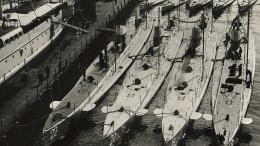 Tauchboote versenken Schiffe vor der amerikanischen Küste