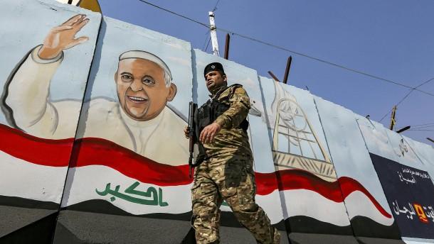 Franziskus reist in den Irak