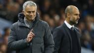 Mourinho und Guardiola kämpfen mit stumpfen Waffen