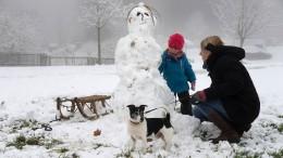 Glätte und Schnee in den Mittelgebirgen