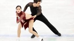 Kanadisches Paar sichert sich abermals Gold