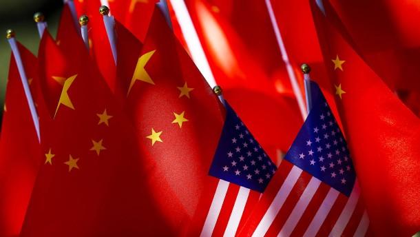Amerika und China besiegeln erstes Handelsabkommen