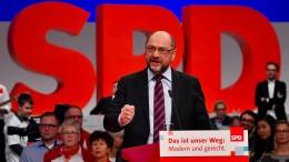 Das sagt Schulz zur Groko-Sondierung