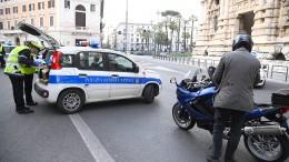 Fast 5000 Verstöße gegen Ausgangssperre in Italien