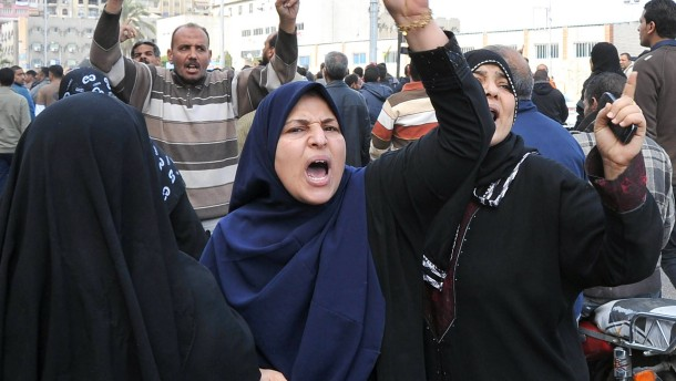 Protest in Port Said