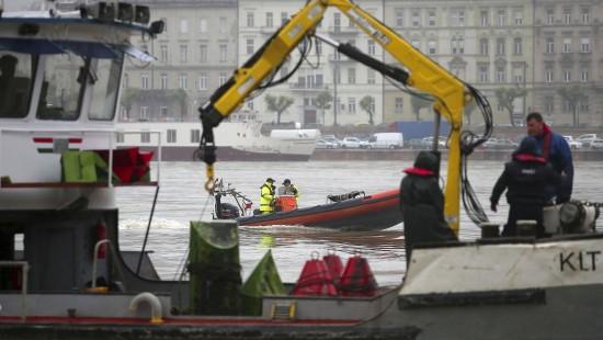 Rettungsaktion auf der Donau
