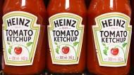 Mit Ketchup reich geworden: Der Lebensmittelkonzern Kraft Heinz wollte Konkurrenten Unilever für 143 Milliarden Dollar kaufen.