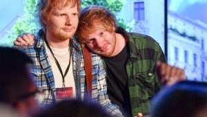 Double enthüllt Ed-Sheeran-Wachsfigur