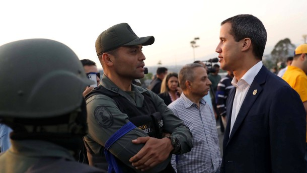 Guaidó ruft Schlussphase im Machtkampf mit Maduro aus