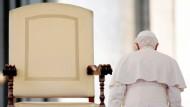 Epochale Entscheidung: Papst Benedikt XVI. tritt am 28. Februar zurück