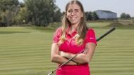 Celia Barquin hatte erst vor wenigen Wochen die Europameisterschaft im Amateur-Golfen gewonnen.