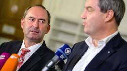 CSU-Präsidium für Koalitionsverhandlungen mit Freien Wählern