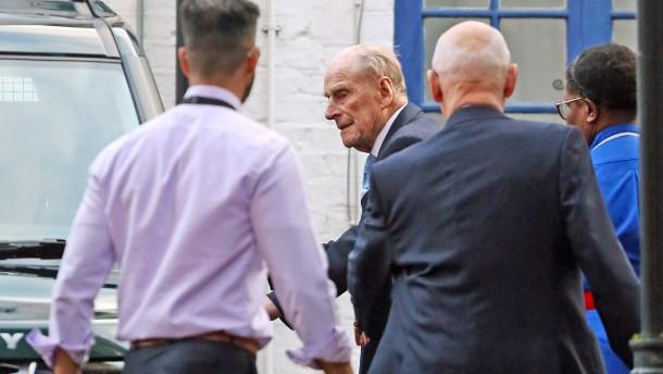 Prinz Philip aus dem Krankenhaus entlassen