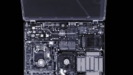 Durchleuchtet: Im Internet gibt man schnell intimste Daten preis. Hier das Röntgenbild eines Laptops.
