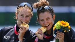 Warum Olympioniken ihre Zähne zeigen