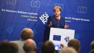 Merkel reagiert gelassen