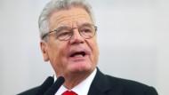 Gauck verteidigt Abkommen zwischen EU und Türkei
