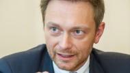 """""""Mein Ziel ist nicht die Abschottung Deutschlands"""": FDP-Chef Christian Lindner"""