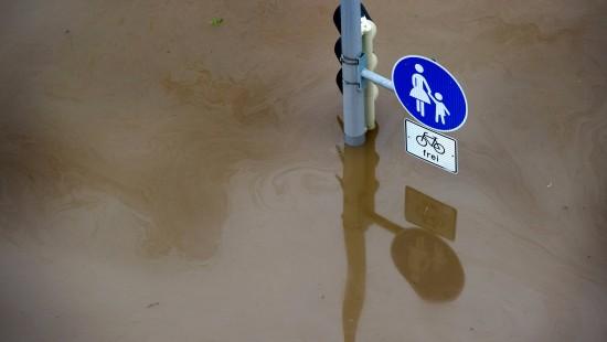 Bilder aus den Hochwassergebieten