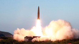 Nordkorea soll wieder ballistische Raketen abgefeuert haben