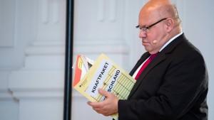 """Setzen Stabilitätsanker im Sturm"""
