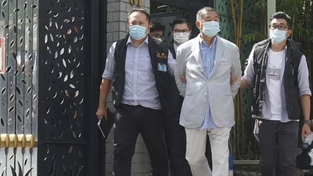 Regierungskritische Aktivisten in Hongkong verhaftet