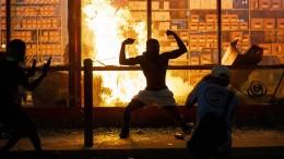 Gewalt bei Protesten in Amerika nach Tod eines Schwarzen