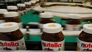 Größte Nutella-Fabrik der Welt steht schon wieder still