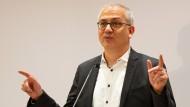 Dirigent von vier Ressorts: Tarek Al-Wazir (Die Grünen), hessischer Minister für Wirtschaft, Energie, Verkehr und Wohnen