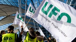 Ufo streikt wieder bei Lufthansa