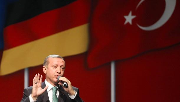 Türkei verurteilt Erdogans Redeverbot scharf