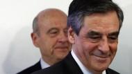 Er hat sich durchgesetzt: François Fillon siegte bei der Vorwahl der Konservativen am Sonntag über Alain Juppé.