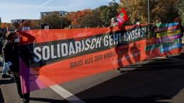 Demonstranten wollen Druck auf Koalitionäre machen