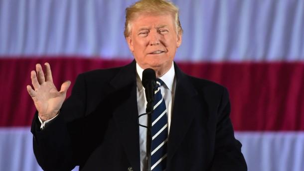 Trump bleibt Gewinner in Wisconsin