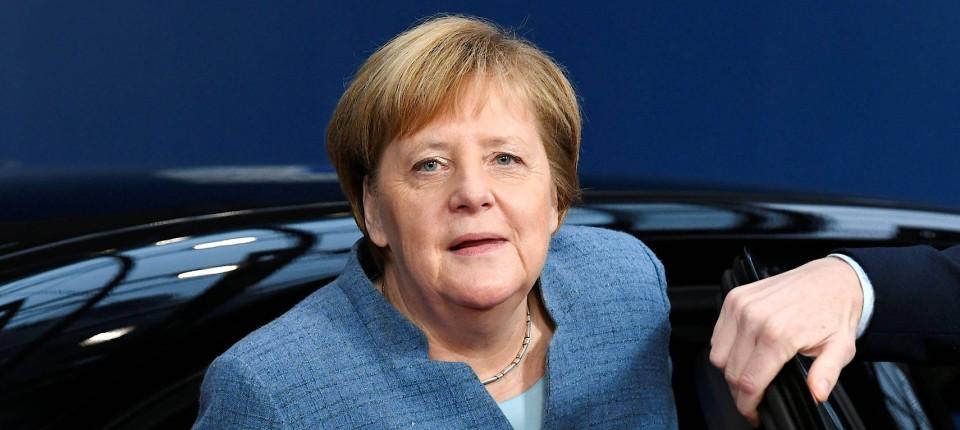 Angela Merkel bei ihrer Ankunft in Brüssel im November 2018
