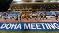 In der Leichtathletik bekannt als Schauplatz der Diamond League: Doha/Qatar