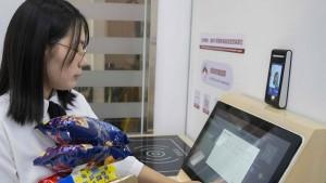 Zahlung per Gesichtserkennung in China