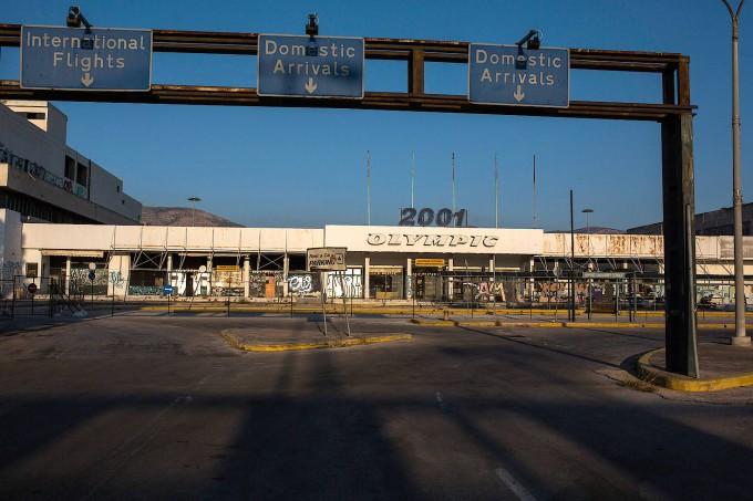 Athens alter Flughafen Ellinikon liegt seit 2001 brach.