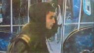 Omar Abdel Hamid El-Hussein auf dem Bild einer Überwachungskamera vom November 2013. Damals griff er in der Kopenhagener S-Bahn einen Jugendlichen mit einem Messer an.