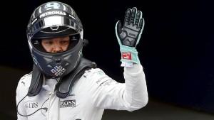 Rosberg fährt in China auf die Pole Position