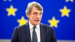 Sassoli will Großbritannien EU-Vorteile verwehren