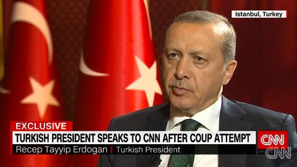 So hat Erdogan die Putschnacht erlebt