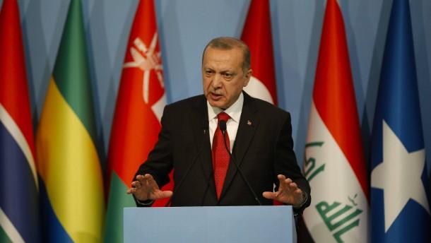 Erdogan wirft Israel Nazi-Methoden vor